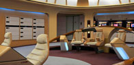 USS Enterprise Bridge